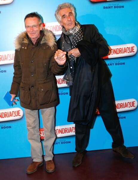Le réalisateur Patrice Leconte et le producteur Richard Pezet