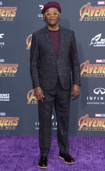Première mondiale d'Avengers: Infinity War - Samuel L. Jackson