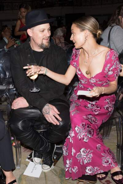 The Daily Front Row's Fashion Awards : Joel Richie et Nicole Richie