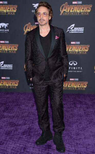 Première mondiale d'Avengers: Infinity War - Robert Downey Jr.