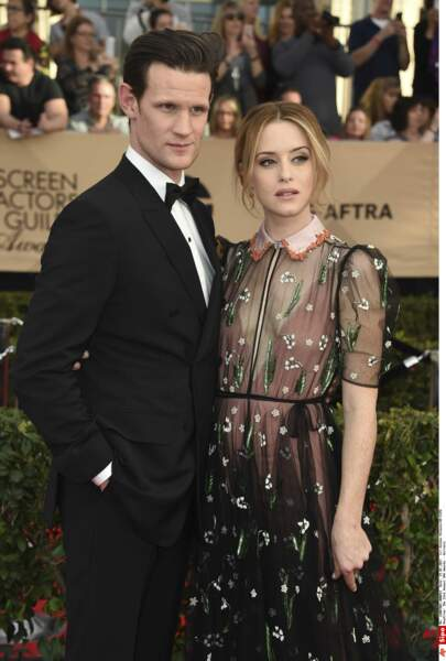 SAG Awards 2017 : Matt Smith et Claire Foy