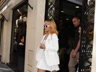 DIAPO Rihanna à Paris