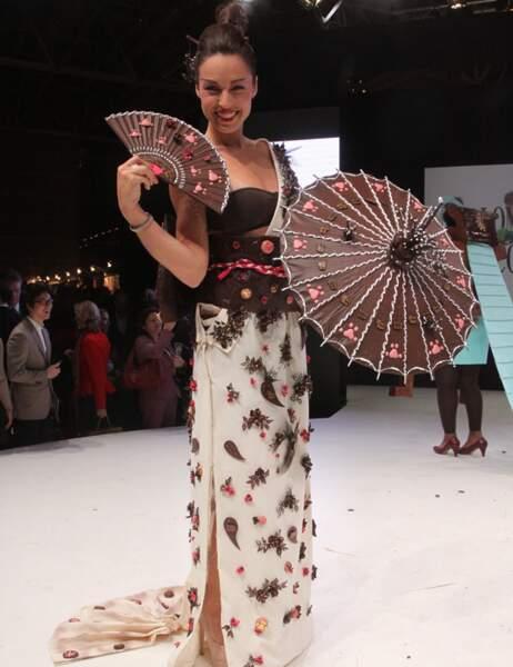 Natasha St-Pier en Kimono Zanshin