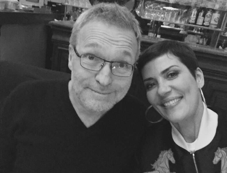 Laurent Ruquier & Cristina Cordula