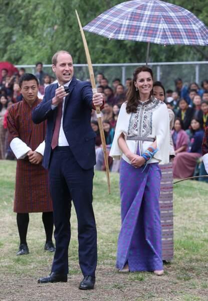 La flèche est partie, vu la tête de Kate, on la soupçonne de penser « J'te l'avais bien dit »