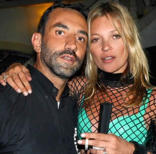 Riccardo et Kate Moss