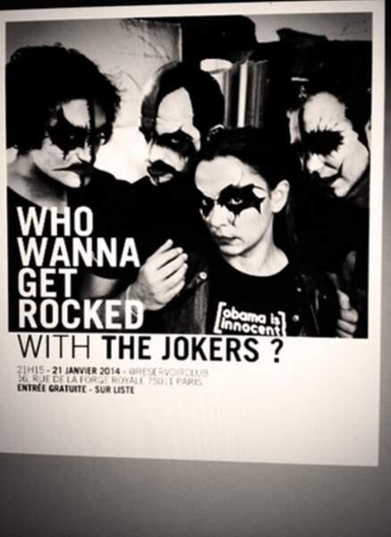 Avec les Jokers, elle a déjà fait quelques dates