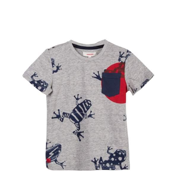 T-shirt grenouilles. En jersey, du 2 au 14 ans, à partir de 29 €, Catimini