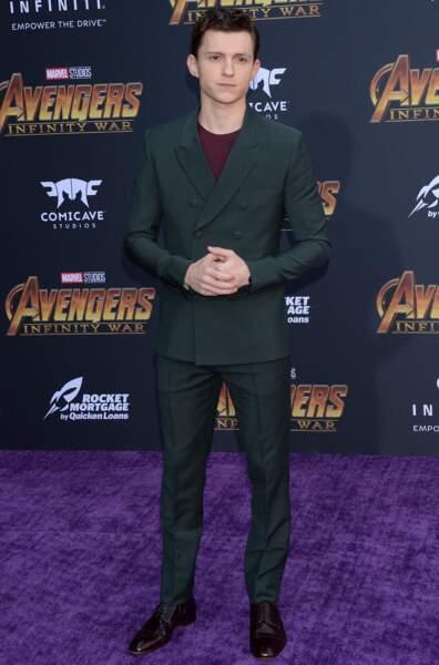 Première mondiale d'Avengers: Infinity War - Tom Holland