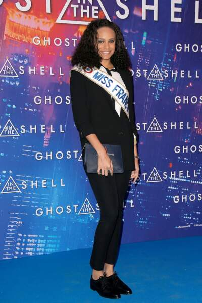 Avant-première de Ghost in the Shell : Alicia Aylies, Miss France 2017