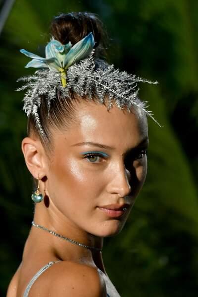 Défilé Lingerie de Rihanna Savage x Fenty : le mannequin Bella Hadid