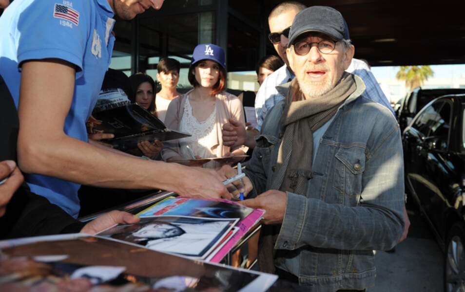 Le réalisateur américain Steven Spielberg, également président du jury