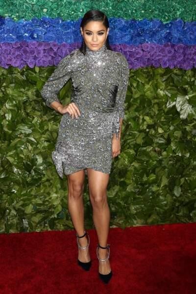 Vanessa Hudgens à la 73ème cérémonie des Tony Awards