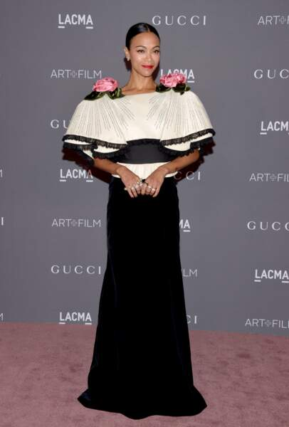 Zoe Saldana 2017 LACMA Art + Film Gala - LA