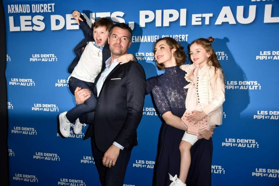 Herbert Leonard, Arnaud Ducret et les enfants du film