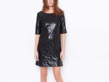 Mode : robe à paillettes