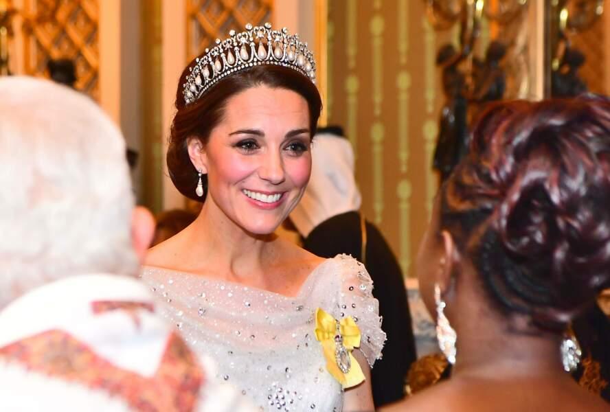 Kate Middleton au palais de Buckingham le mardi 4 décembre