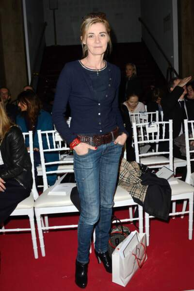 Fashion week automne-hiver 2017 - Défilé Alexis Mabille : Anne Consigny