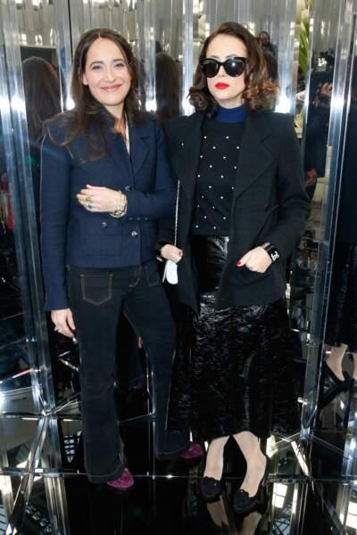 Défilé Chanel Haute Couture : les soeurs Anne et Claire Berest