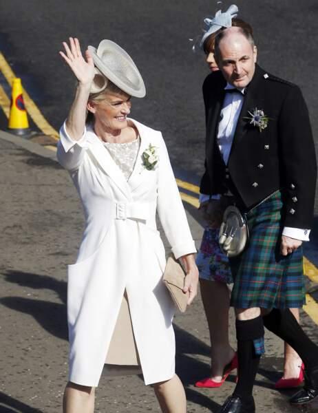 Judy et William Murray, ses parents. Papa a d'ailleurs lui aussi respecté la tradition.