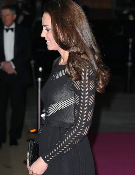 Kate dévoile ses premières rondeurs à 13 semaines de grossesse seulement