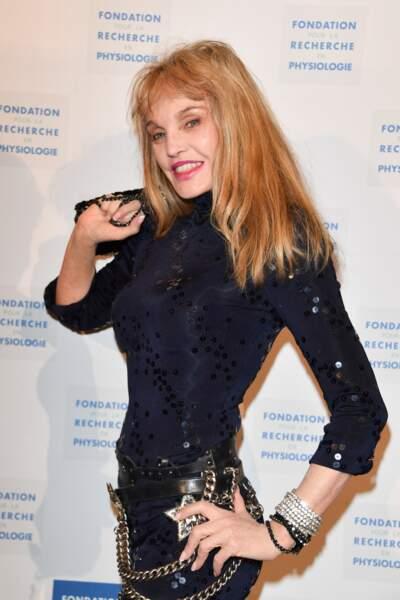 Arielle Dombasle aux Stéthos d'Or