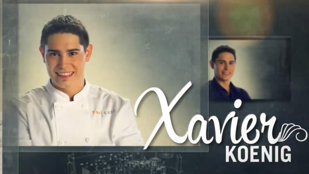 Xavier Koenig a gagné Top Chef en 2015