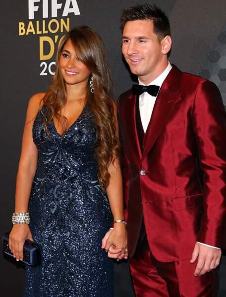 Antonella Roccuzzo, la compagne de Lionel Messi (Argentine)