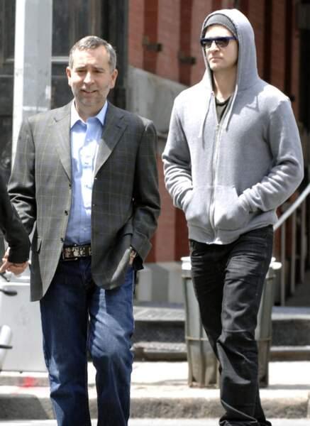 Justin Timberlake et son papa