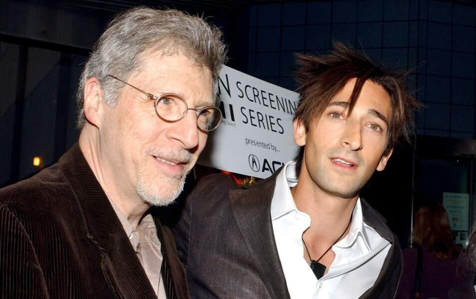Adrien Brody et son papa