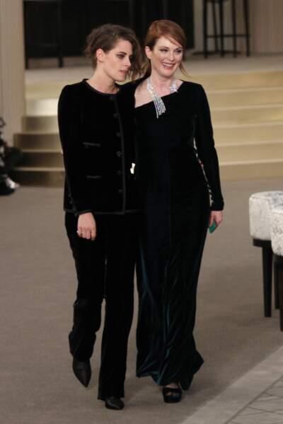 Kristen Stewart et Julianne Moore, très complices