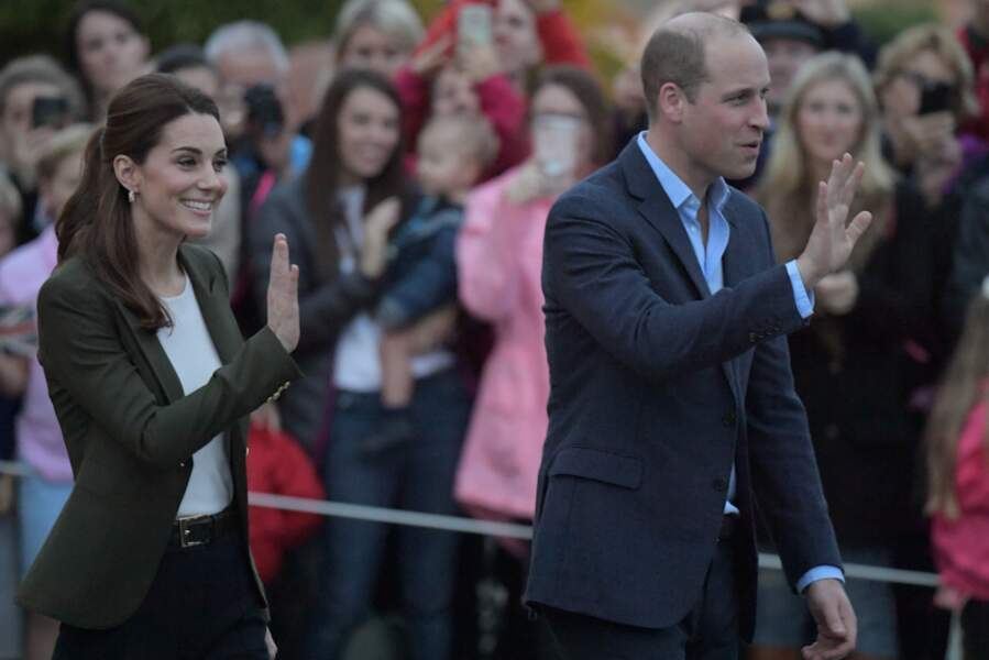 Kate Middleton et le prince William à Chypre pour rencontrer des militaires de la Royal Air Force