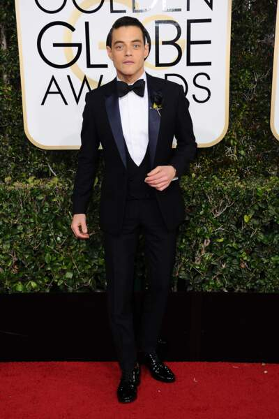 Golden Globes 2017 : Rami Malek (Mr Robot)