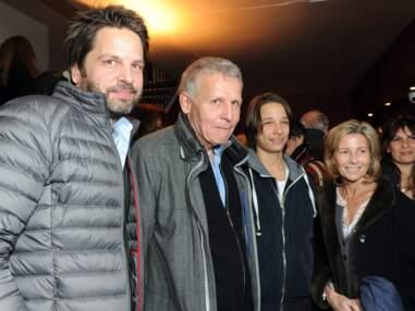 Patrick Poivre d'Arvor en famille et avec Claire Chazal à la générale de Garde alternée