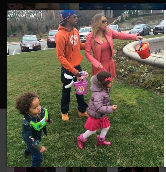 Mariah Carey et Nick Cannon ont fait la paix le temps d'une journée pour leurs enfants
