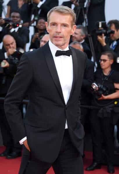 Cannes - Montée des Marches pour le 70ème anniversaire : Lambert Wilson