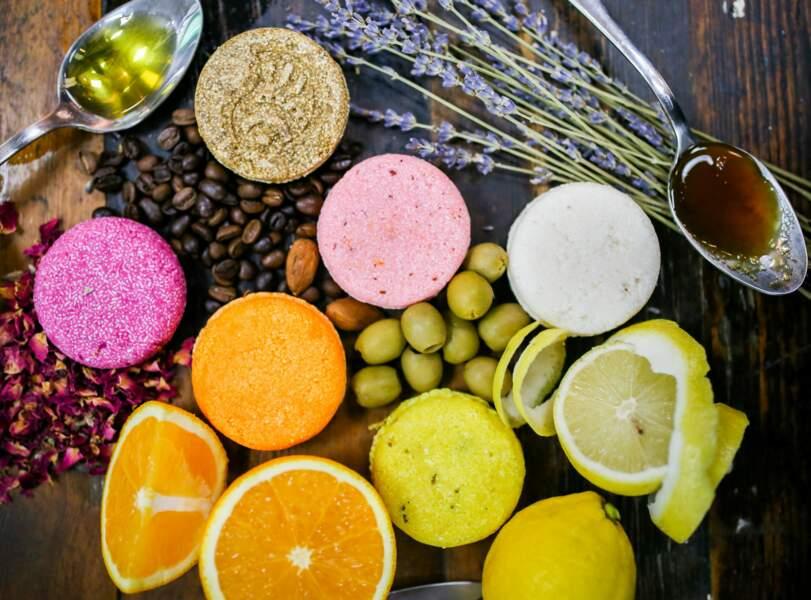 Lush ingrédients naturels
