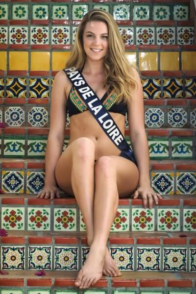 Miss Pays de la Loire 2017 -  Chloé Guémard