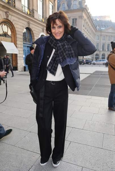 Fashion Week Haute Couture : Inès de la Fressange