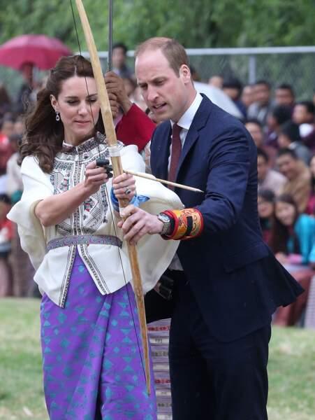 Kate Middleton doit à son tour essayer