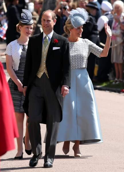 Sophie, comptesse de Wessex, et le prince Edward