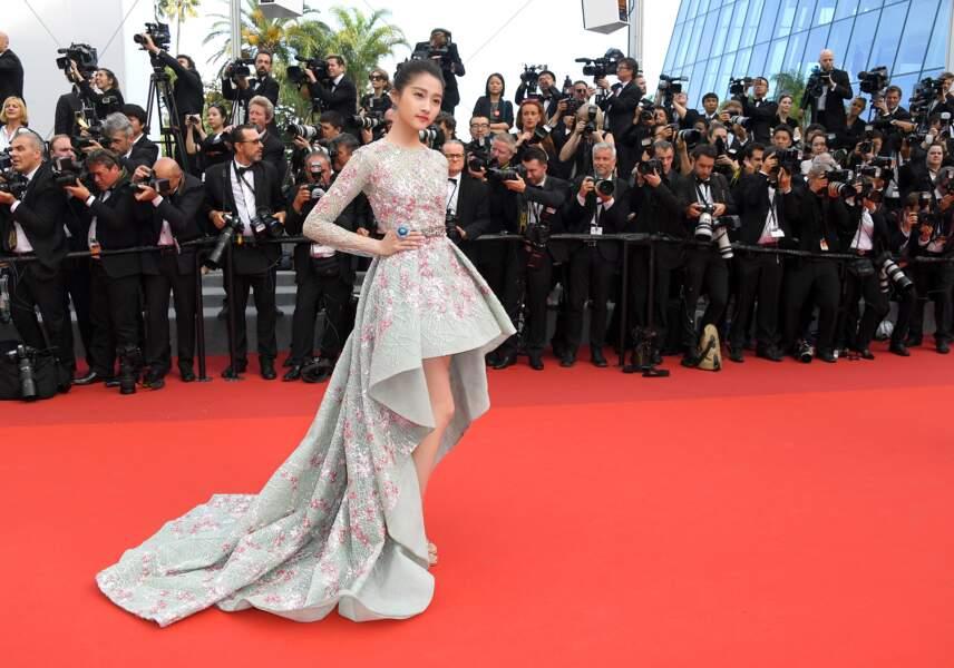 Cannes - Montée des Marches pour le 70ème anniversaire : Juan Xiopong