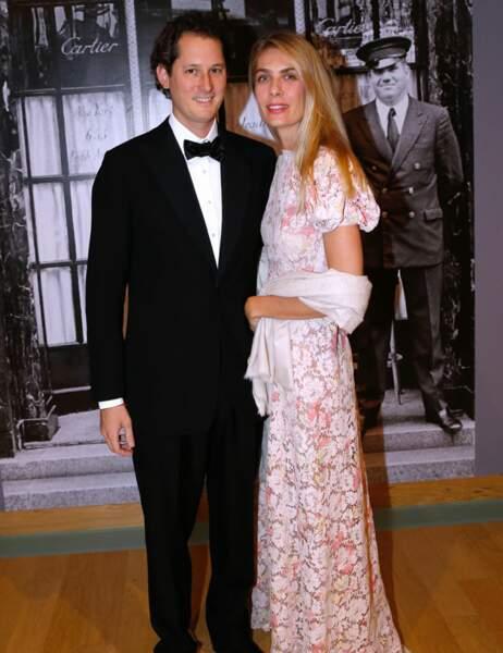 John et Lavinia Elkann