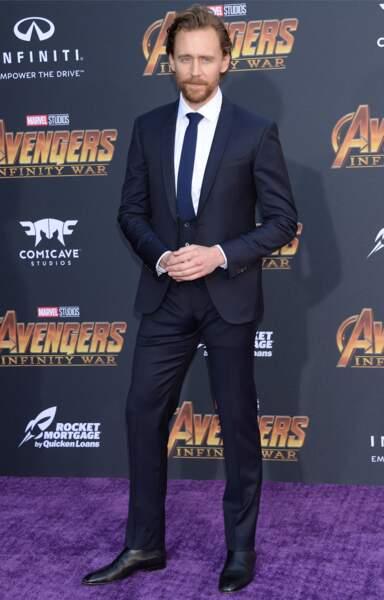 Première mondiale d'Avengers: Infinity War - Tom Hiddleston