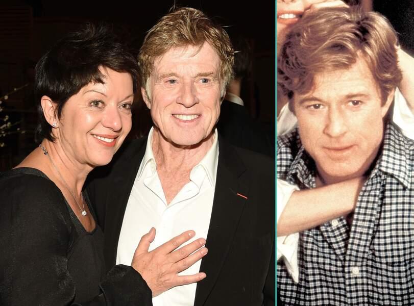 Robert Redford aujourd'hui à 79 ans et à 59 ans, l'âge actuel de sa femme Sybille Szaggars