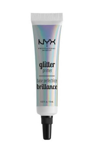 50 façons de briller : Base paillettes visage et corps, NYX Professional, 8,90 euros