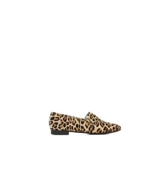 Mocassins léopard, NOÏS MOC, 295€
