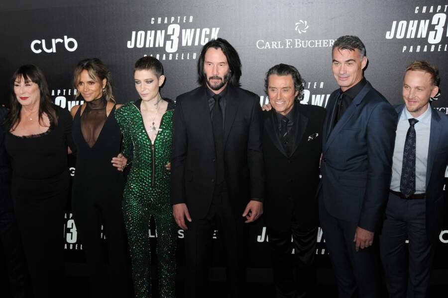 Toute l'équipe du film John Wick réunie à New-York