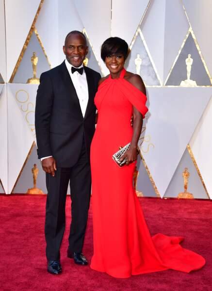 Les plus beaux couples des Oscars 2017 : Julius Tennon et Viola Davis