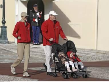 PHOTOS Albert et Charlène avec leurs enfants à la marche pour le climat